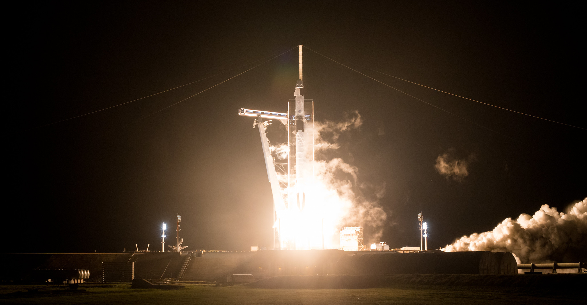 Trump and Biden hail SpaceX's Crew-1 astronaut launch success for NASA