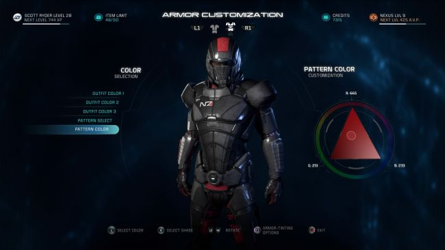 Theres secret n7 commander shepard armor in mass effect replies 0 maxwellsz