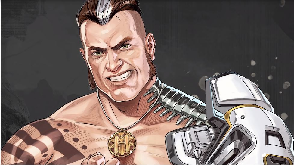 Apex Legends has a new character - and he's an MMA fighter