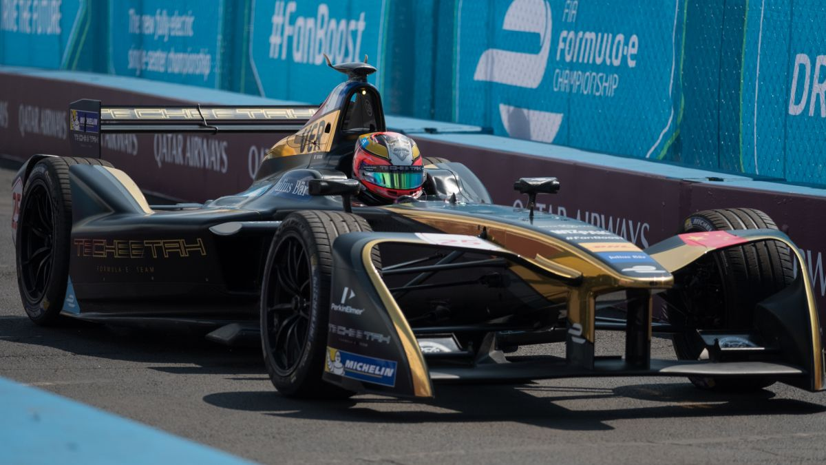 The quiet, fast world of Formula E racing