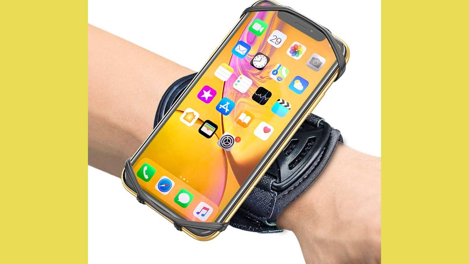 iPhone sports band