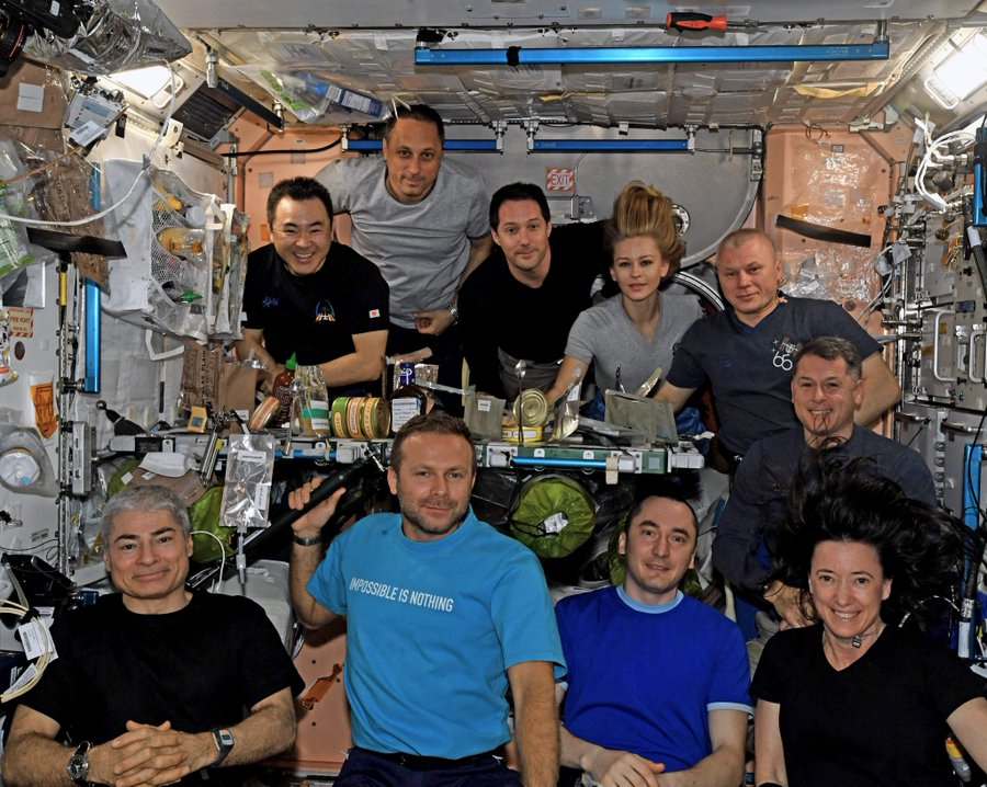 Russian film crew returns to Earth from space station today. Here's how to watch online.