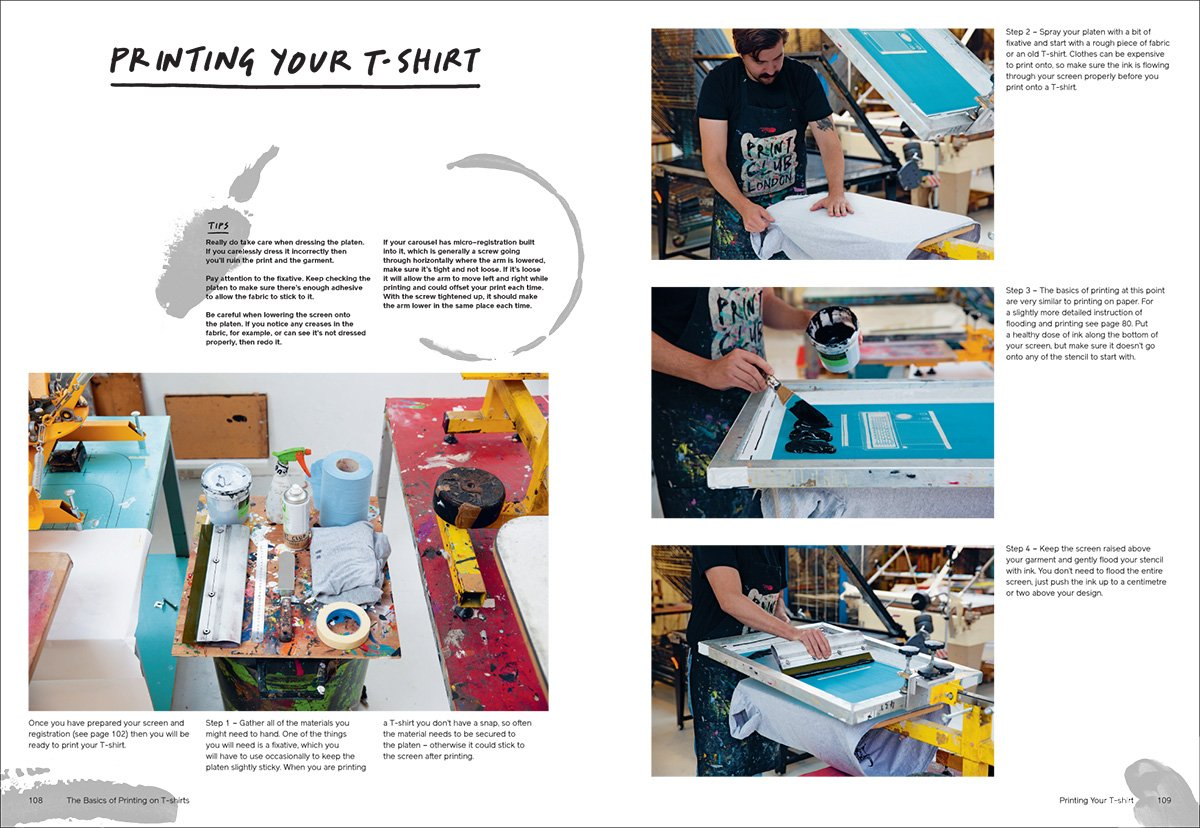 T-shirt screen printing tutorial