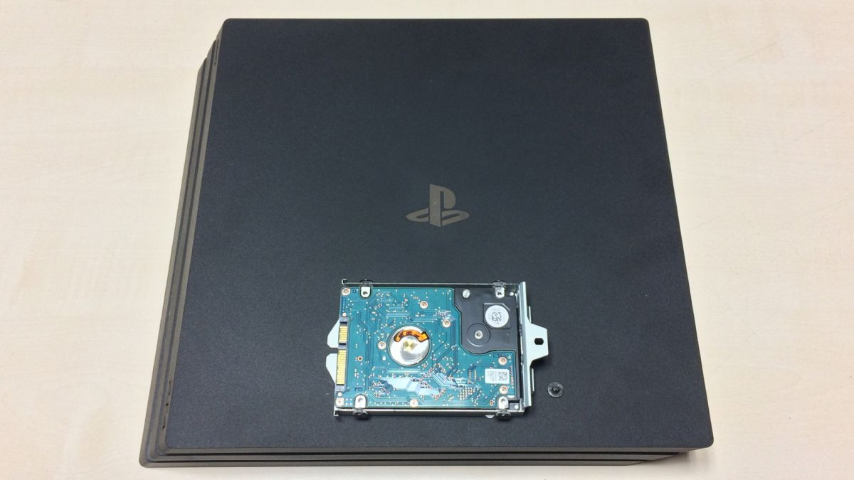 How To Replace And Upgrade Your Ps4 Pro Hard Drive