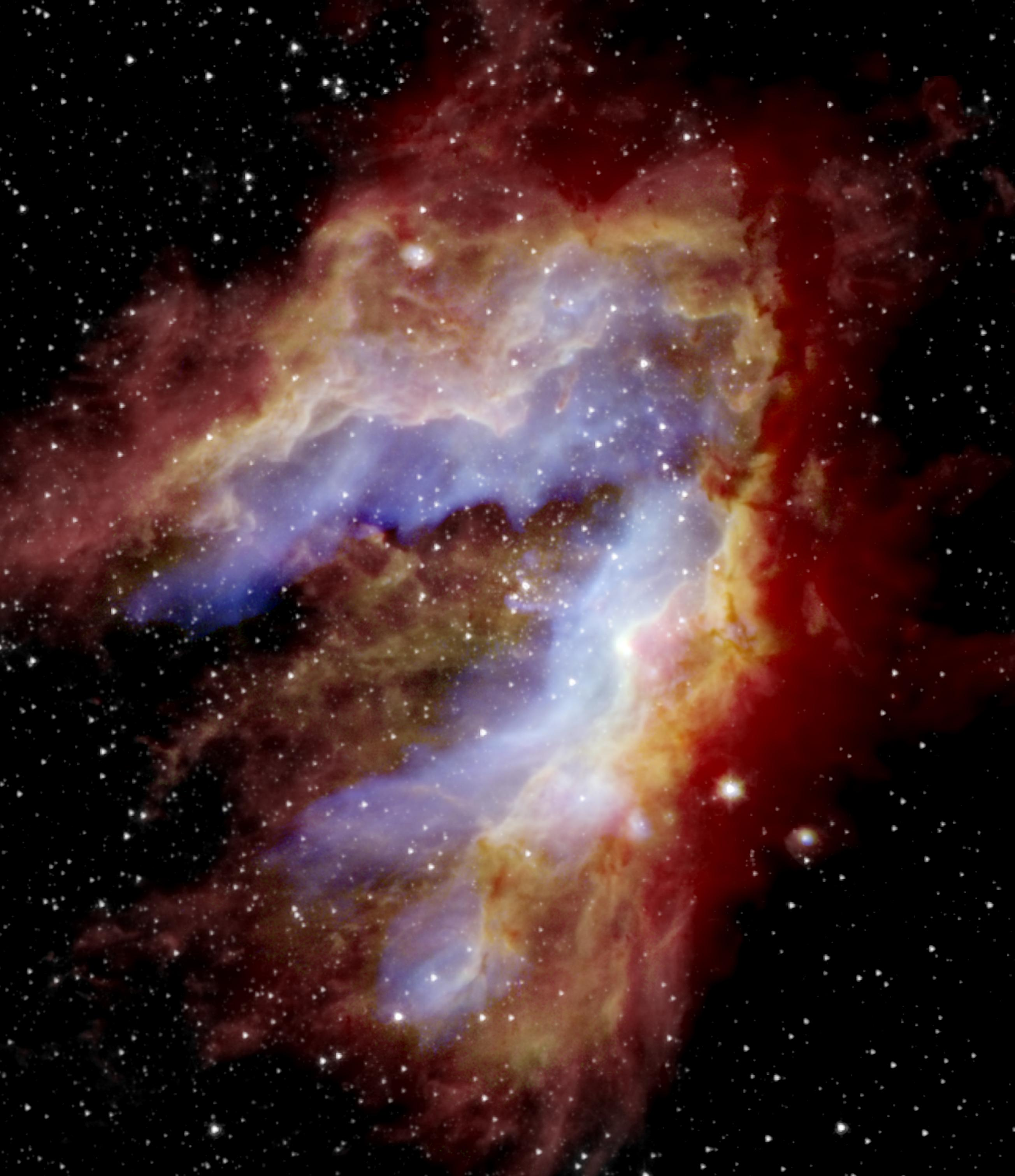 Swan Nebula 'star factory' reveals protostar treasure to NASA's flying telescope