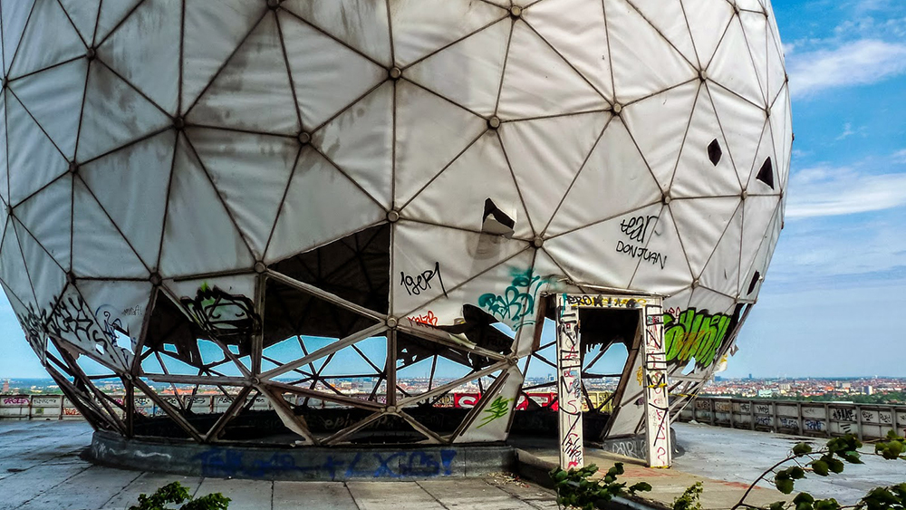 Teufelsberg listening station dome
