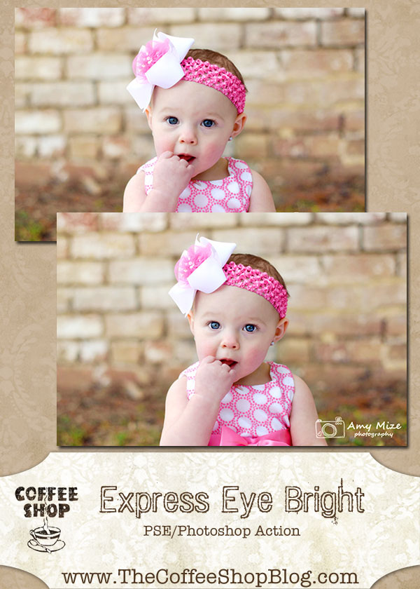Free Photoshop actions: Express Eye Bright