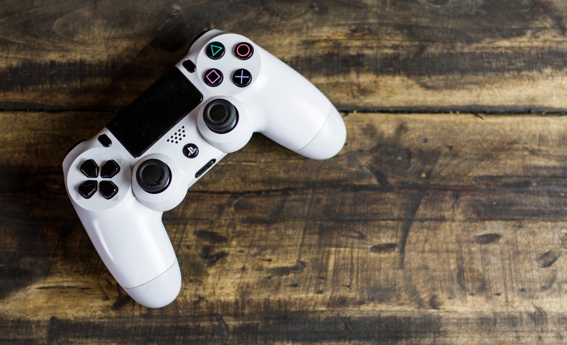 a photo of a dualshock 4 controller