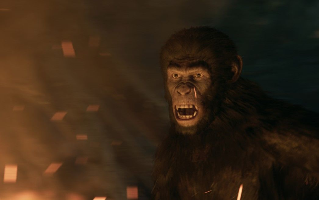 The debut trailer for Planet of the Apes: Lost Frontier shows primates under pressure