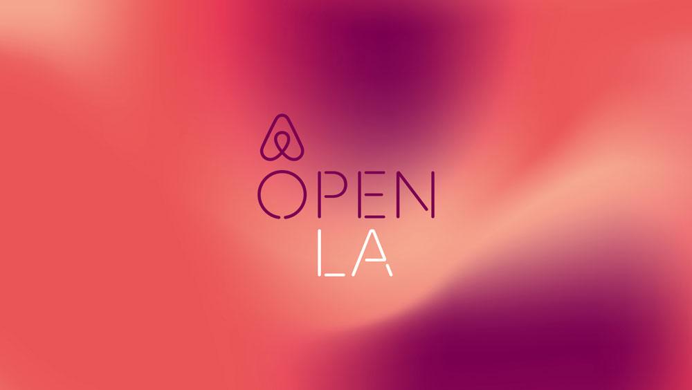 Airbnb Open LA logo