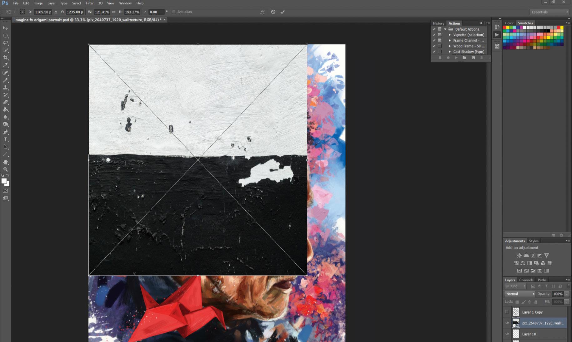 Paint expressive portrait art with ArtRage 5 ⋅ hanffdesign com