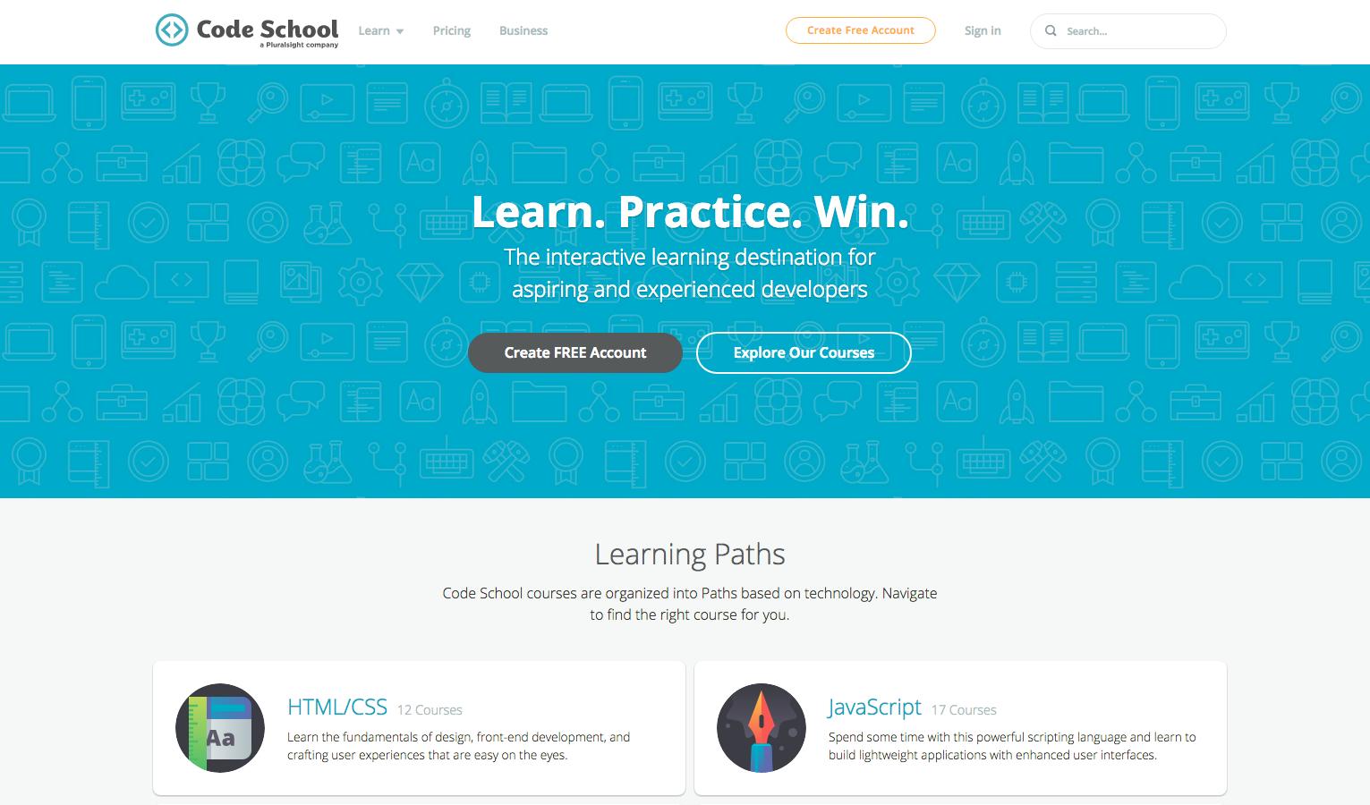 code school javascript free