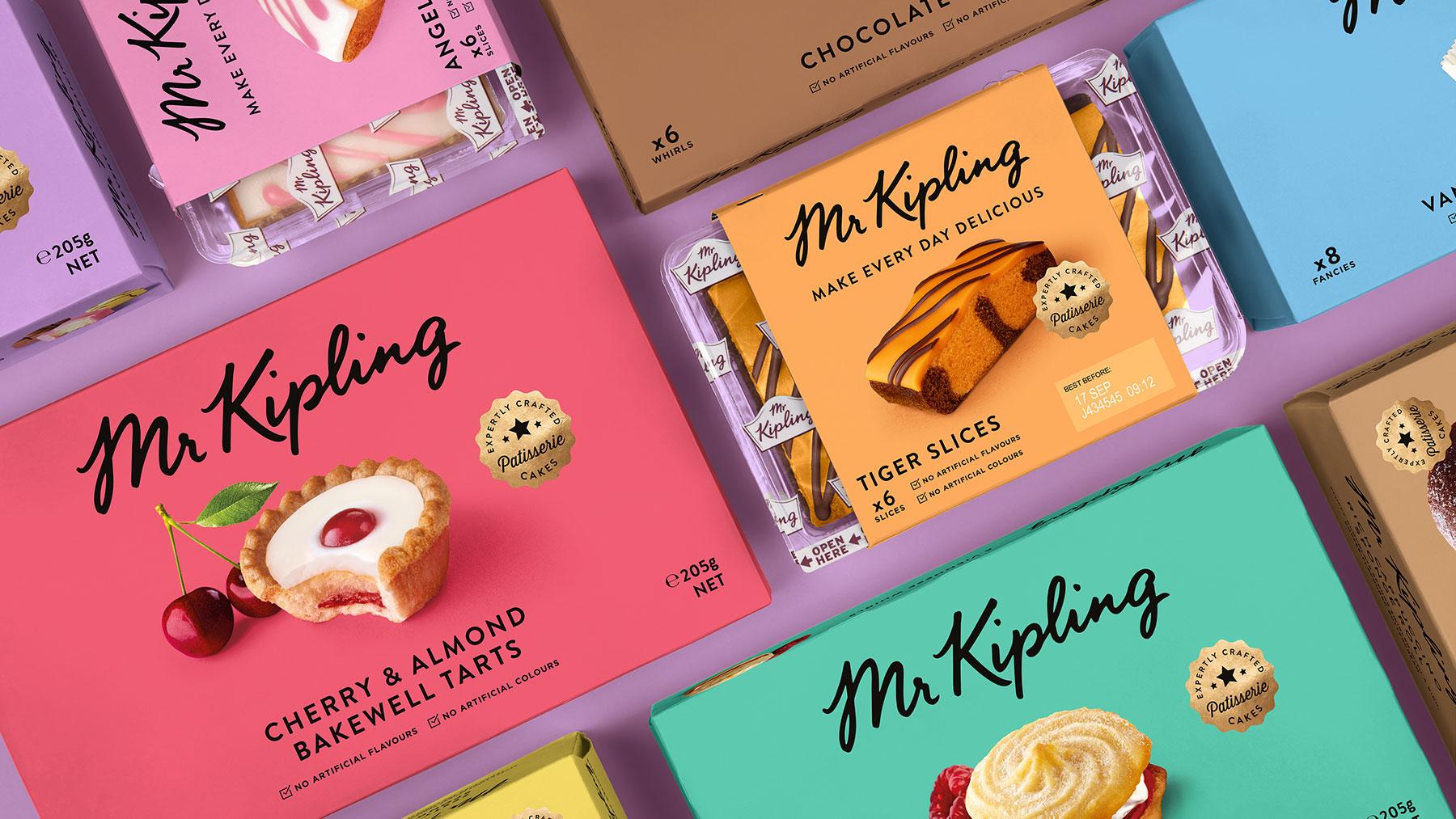 Mr Kipling cake boxes