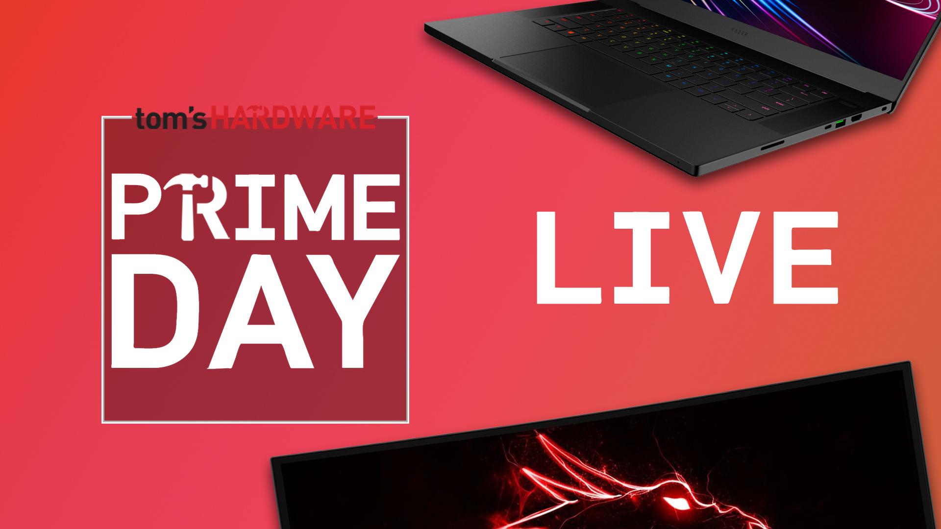 Amazon Prime Day 2021 Live Blog: The Best Tech & PC Hardware Deals