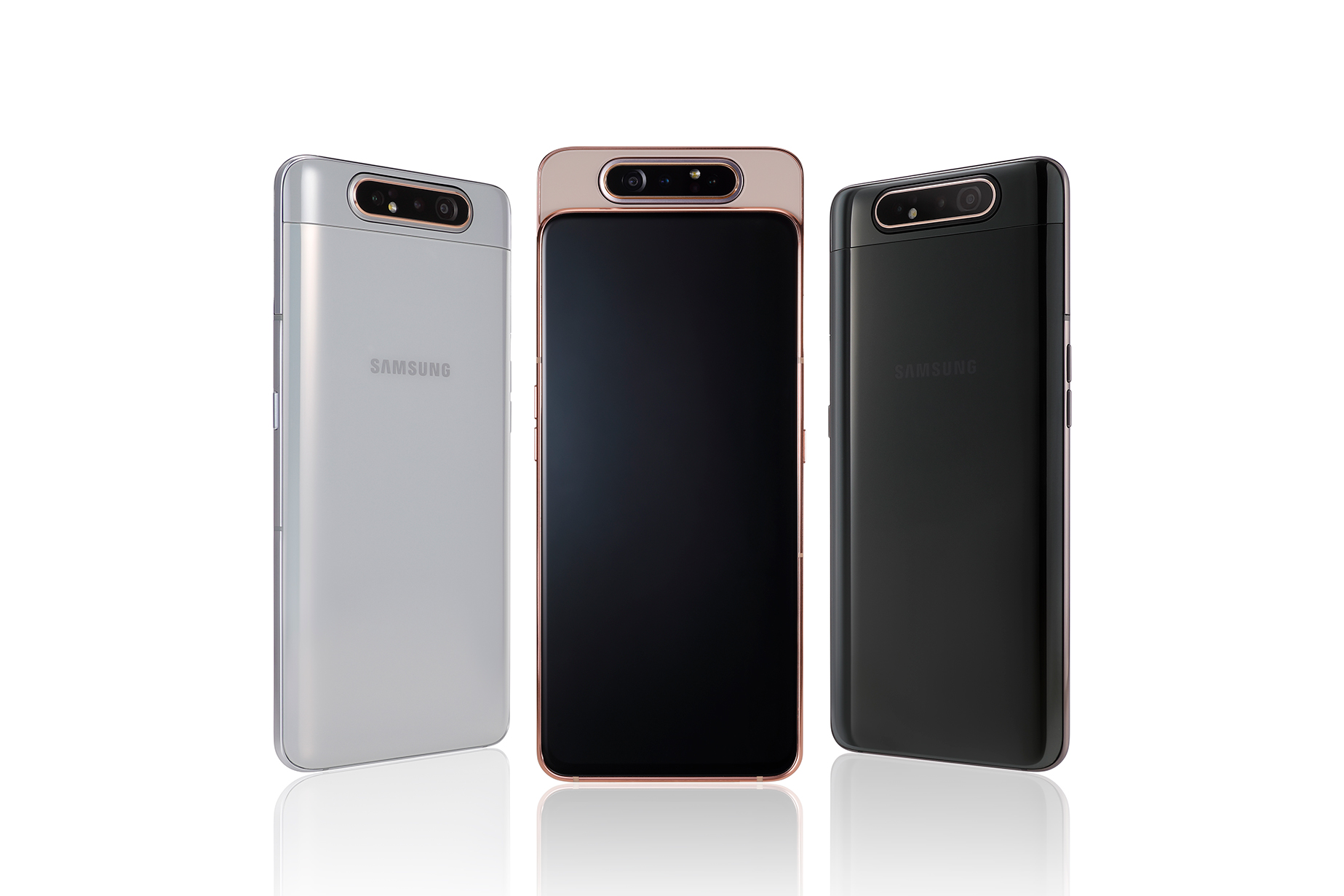 Samsung Galaxy A80 announced with triple-lens rotating camera
