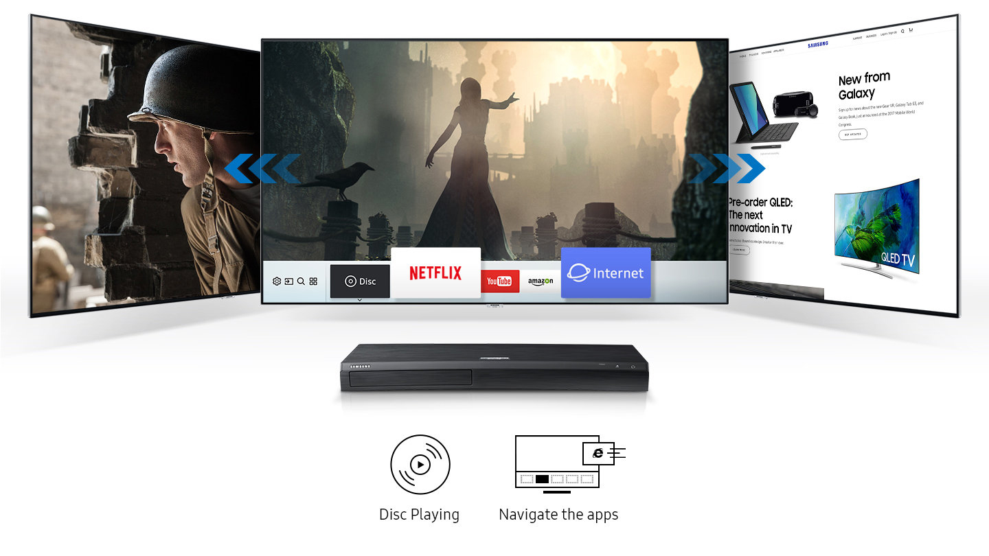 Samsung's upgraded 4K Blu-ray player is ready to rock Down Under
