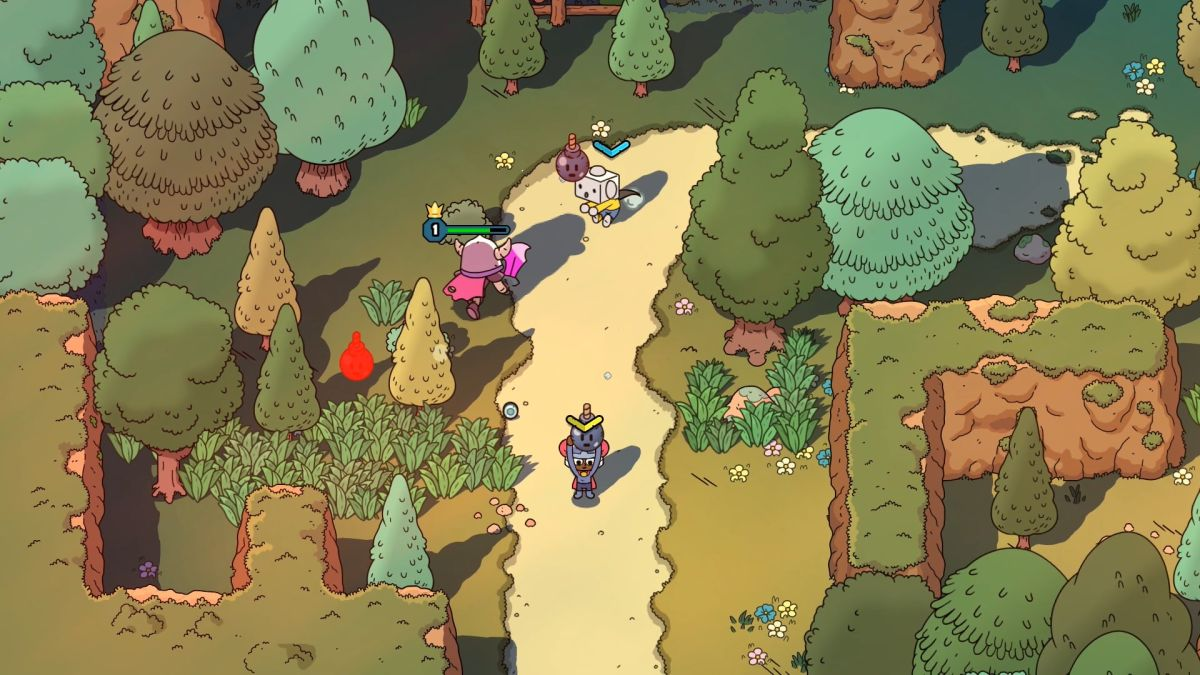 The Swords of Ditto is a whimsical topdown action RPG, coming next year