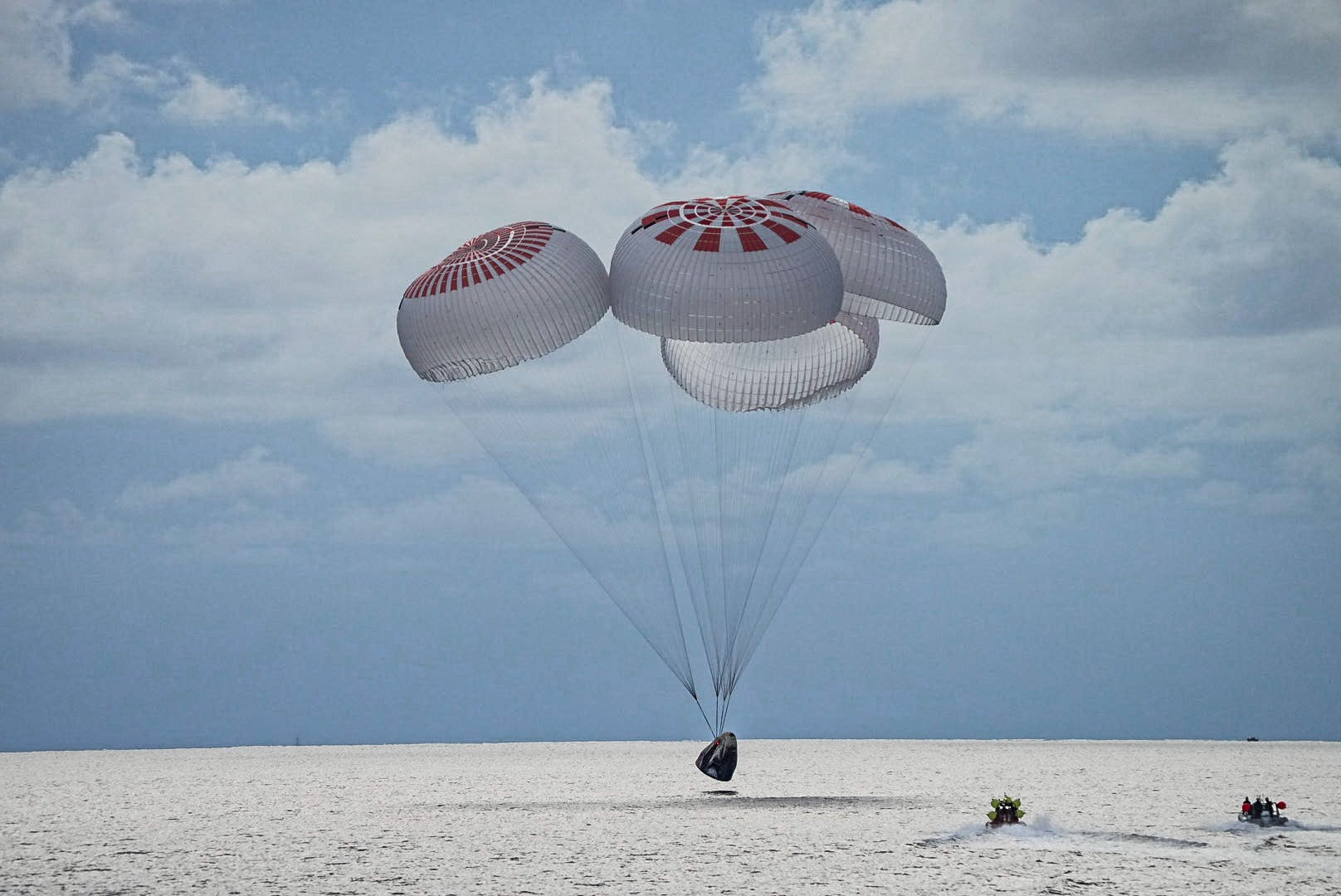 SpaceX's private Inspiration4 crew returns to Earth with historic splashdown off Florida coast