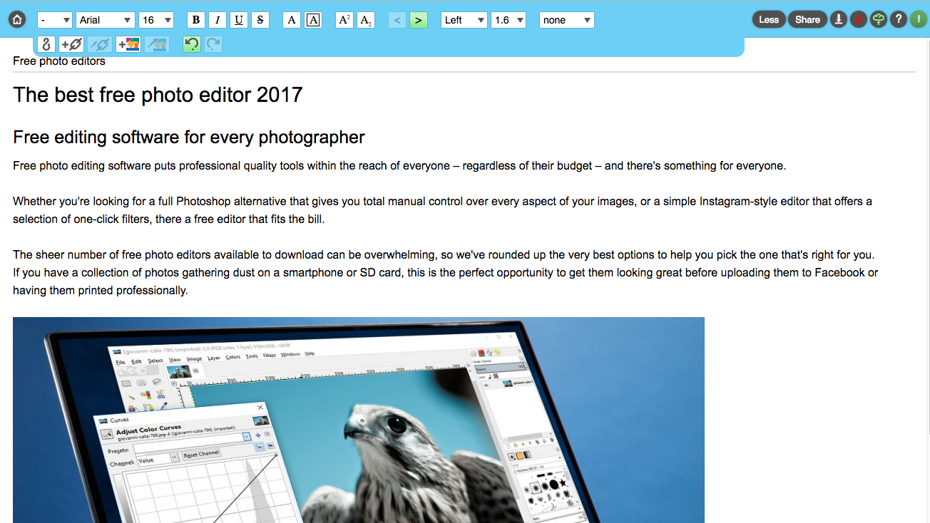 The best free online text editor 2017 - OS Customization ...