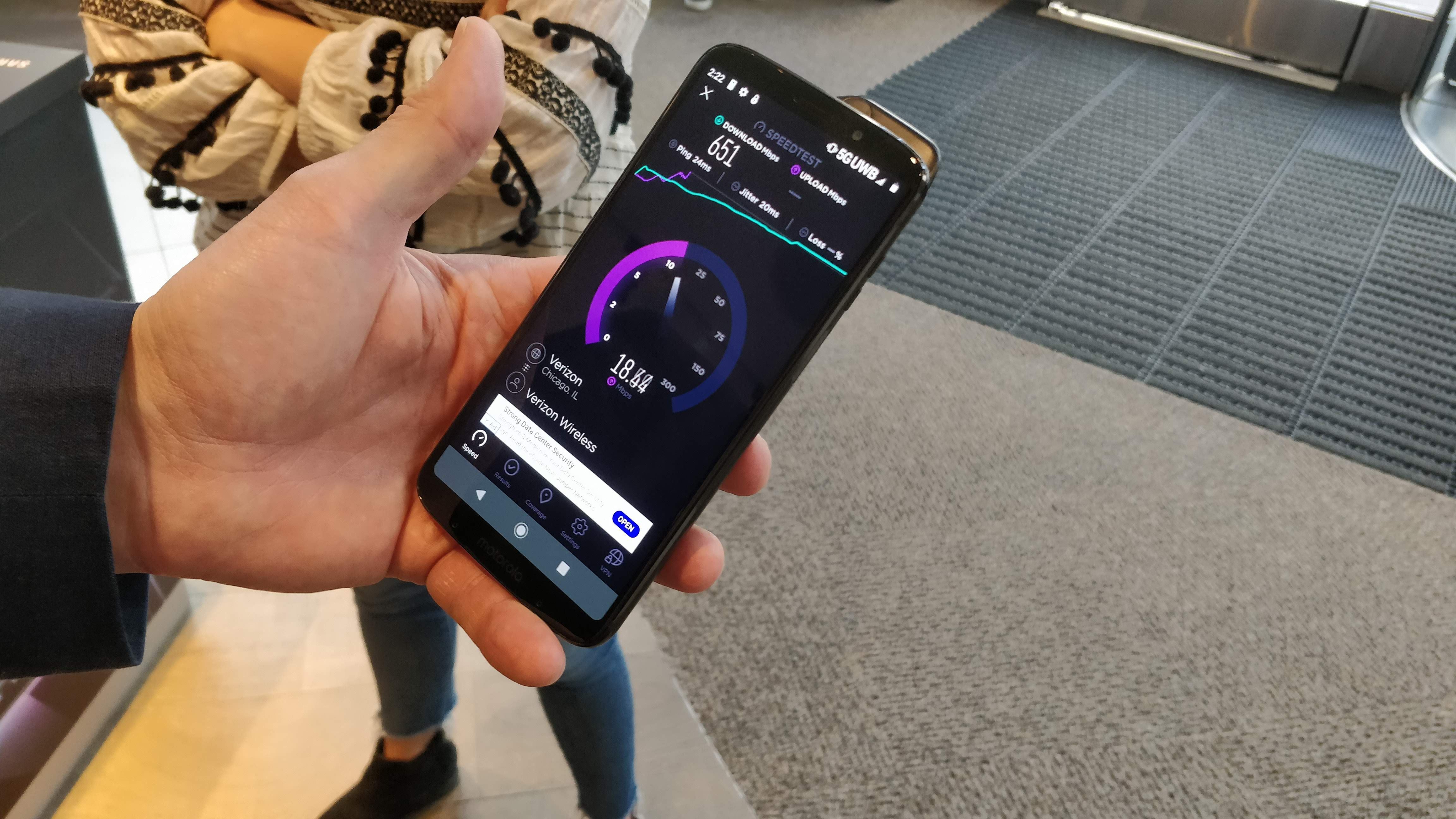 The first 5G phone: our hands-on with the future of smartphones