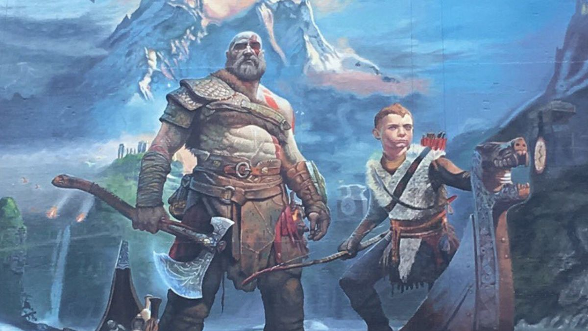 God Of War's Giant E3 Poster Is Finished And Reveals A