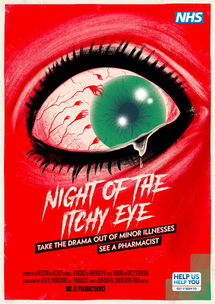 NHS movie posters