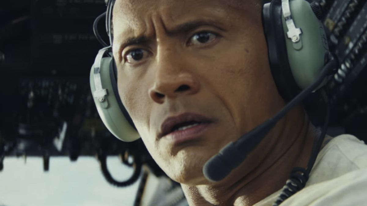 The Rampage movie pits The Rock against a giant gorilla and Walking Dead's Negan