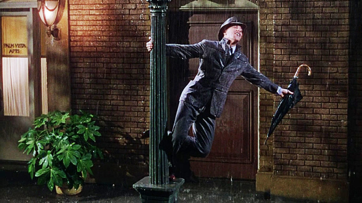 A still from the movie Singin in the Rain