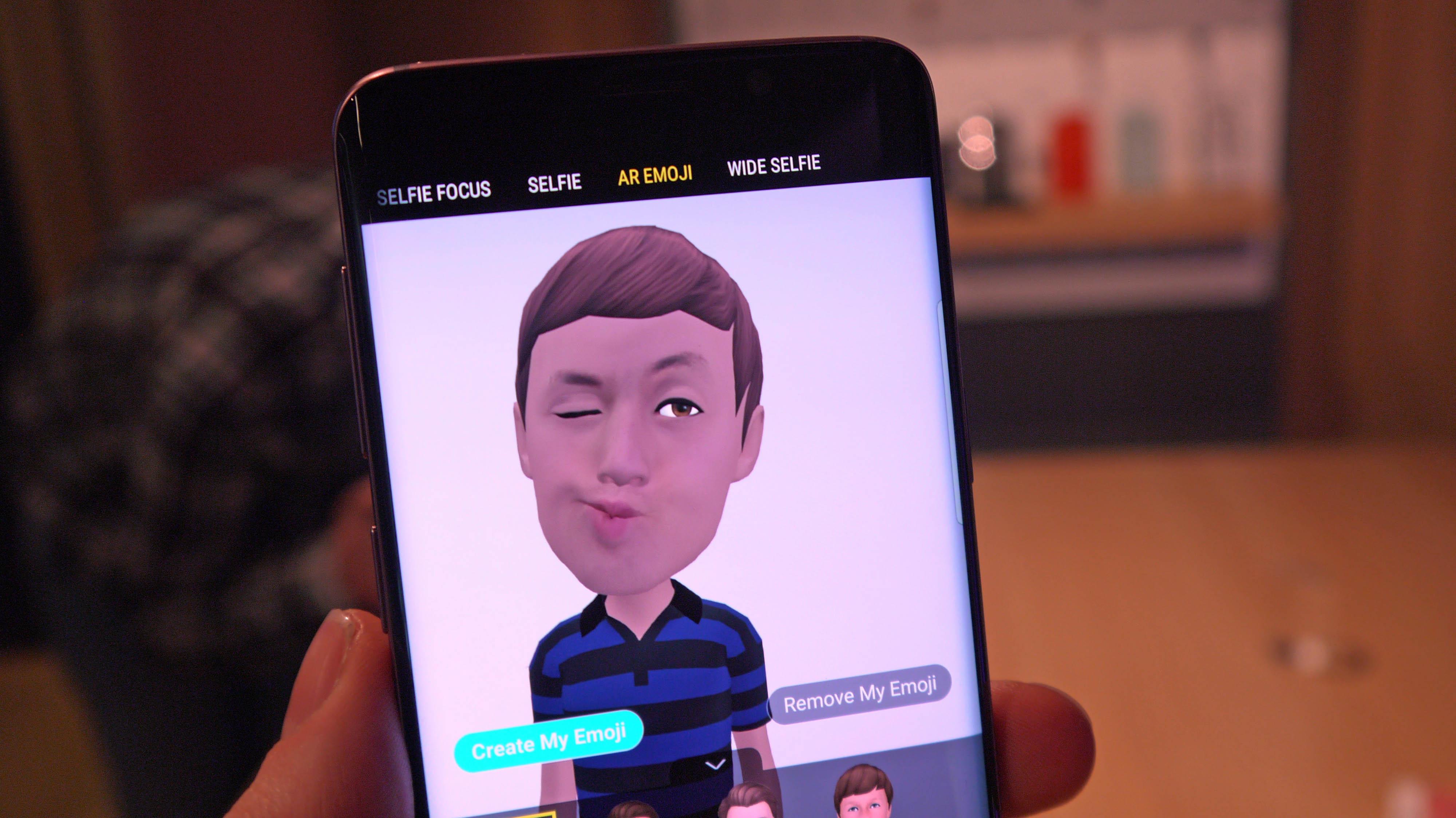 Samsung Galaxy S9 Plus AR emoji
