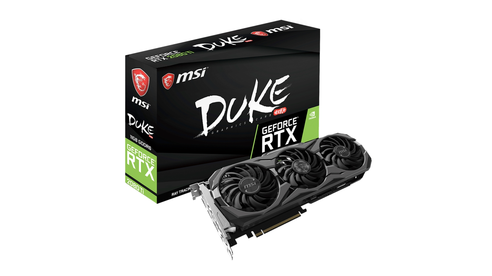 MSI GeForce RTX 2080 Ti 11GB Duke OC