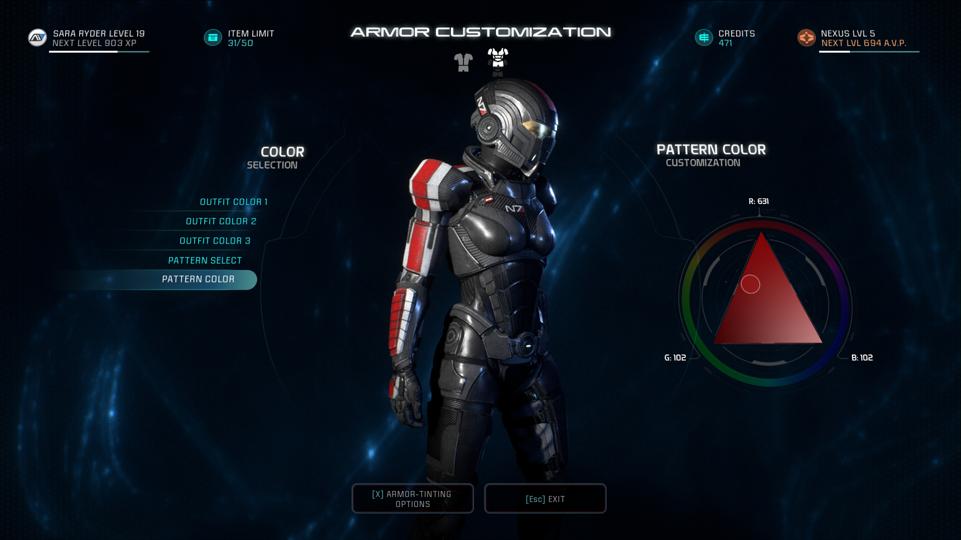 <b>Armor</b> Customization (<b>Mass Effect</b> 3) | <b>Mass Effect</b> Wiki | FANDOM ...