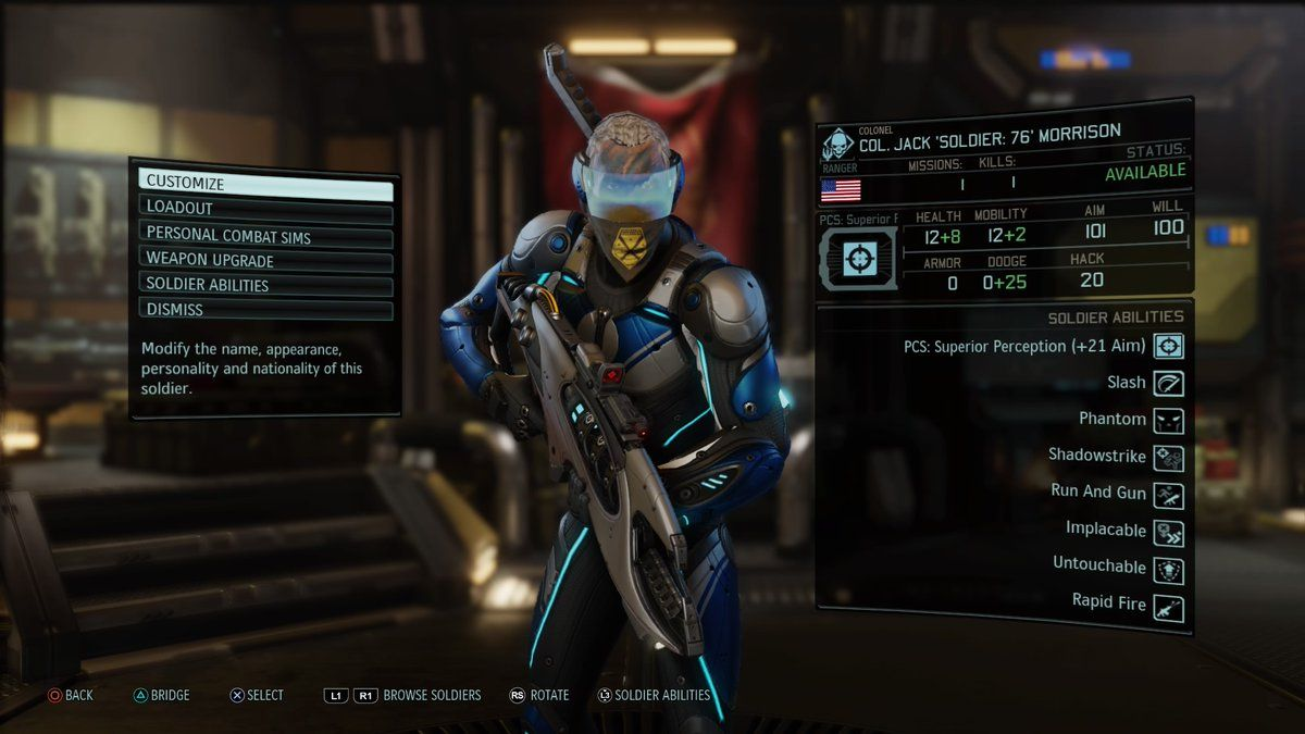 overwatch comes to xcom 2 as fan made super soldiers pc. Black Bedroom Furniture Sets. Home Design Ideas