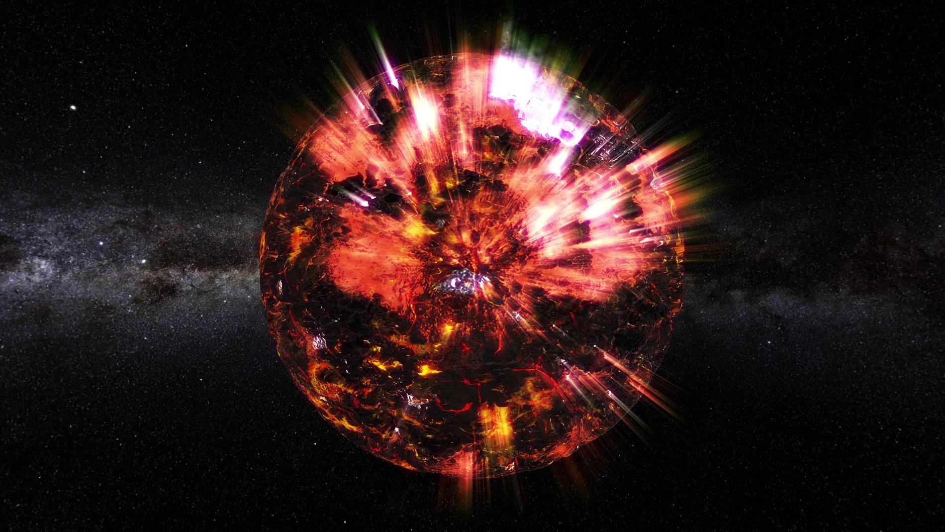 Now-dead radio telescope finds bizarre venomous-spider star thumbnail