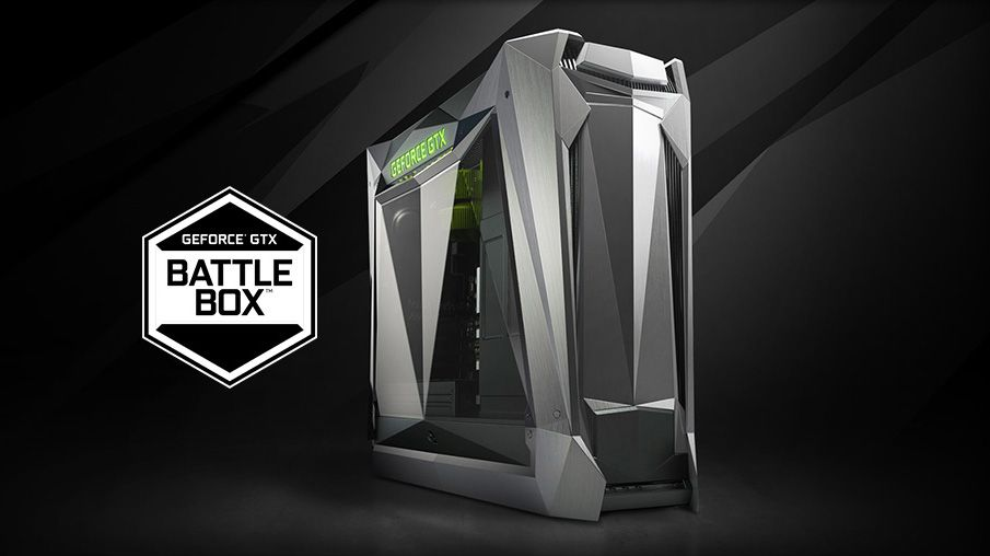 Nvidia's partners can now use AMD processors inside certified Battlebox PCs