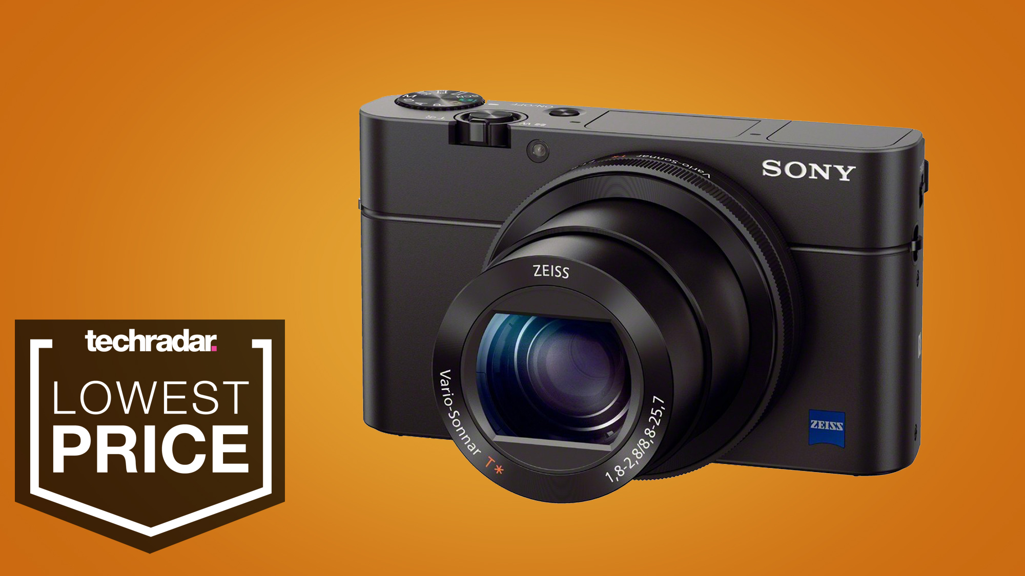 Sony RX100 III gets 56% price slash in the best Christmas compact camera deal