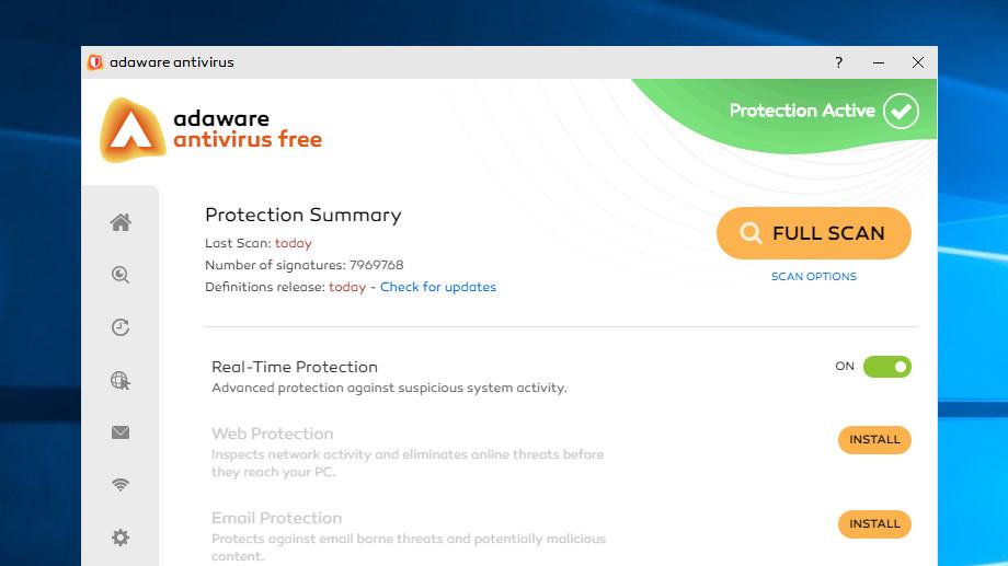 9. Bitdefender Antivirus Free Edition