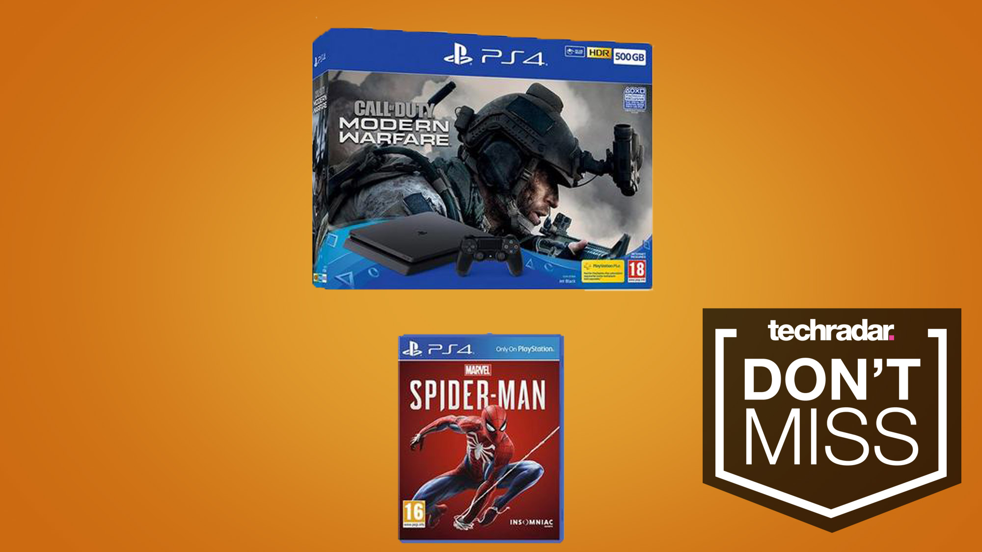 Grab a PS4, the new Call of Duty and Spider-Man for just £200