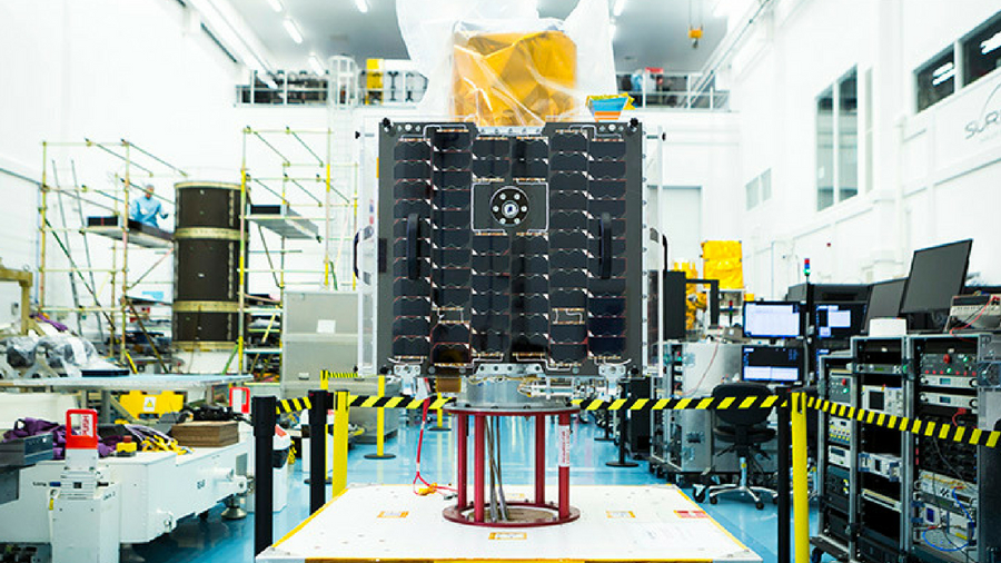 Earth-i's VividX2 satellite