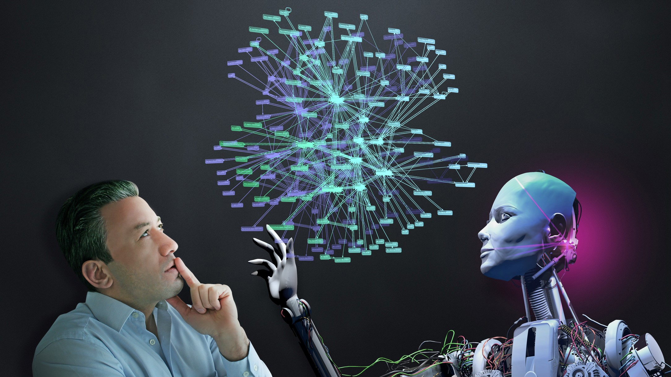 Placing humans at the centre of Artificial Intelligence