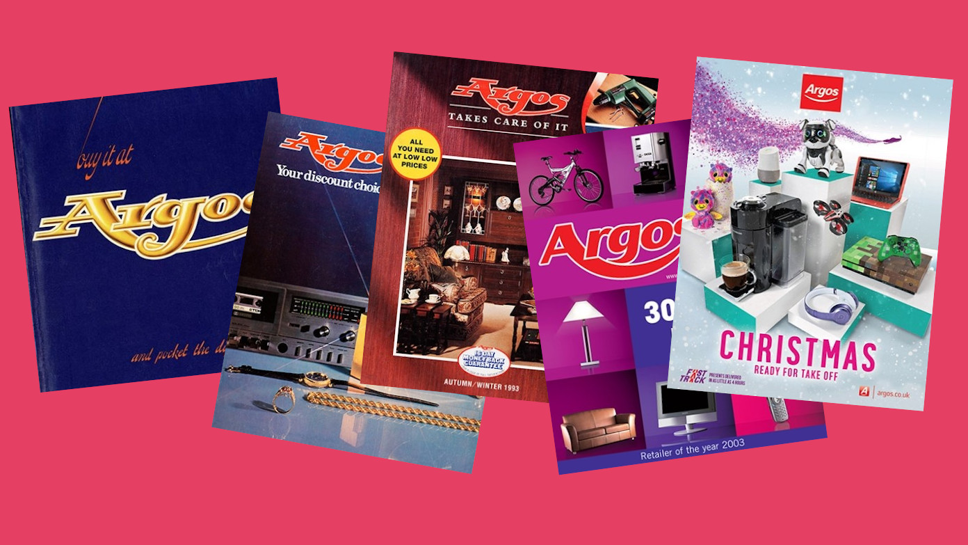 Flick through 45 years of retro gadgets in a huge online archive of Argos catalogues