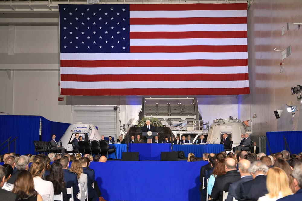 Vice President Pence Chairs Space Council Meeting Today: Watch It Live