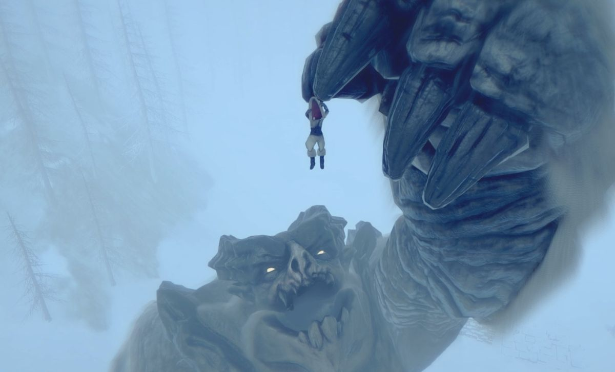 Action-survival game Praey for the Gods adds Breath of the Wild-style climbing