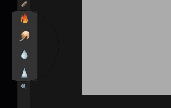 Affinity Designer retouching tools