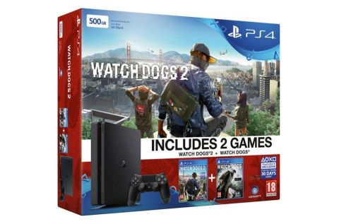 Black Friday 2016: Grab this PS4 Slim 500GB Watch Dogs 2 console ...