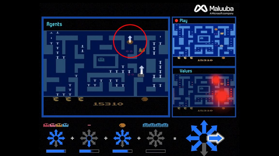 Microsoft's AI just achieved the world's first perfect Ms. Pac-Man score