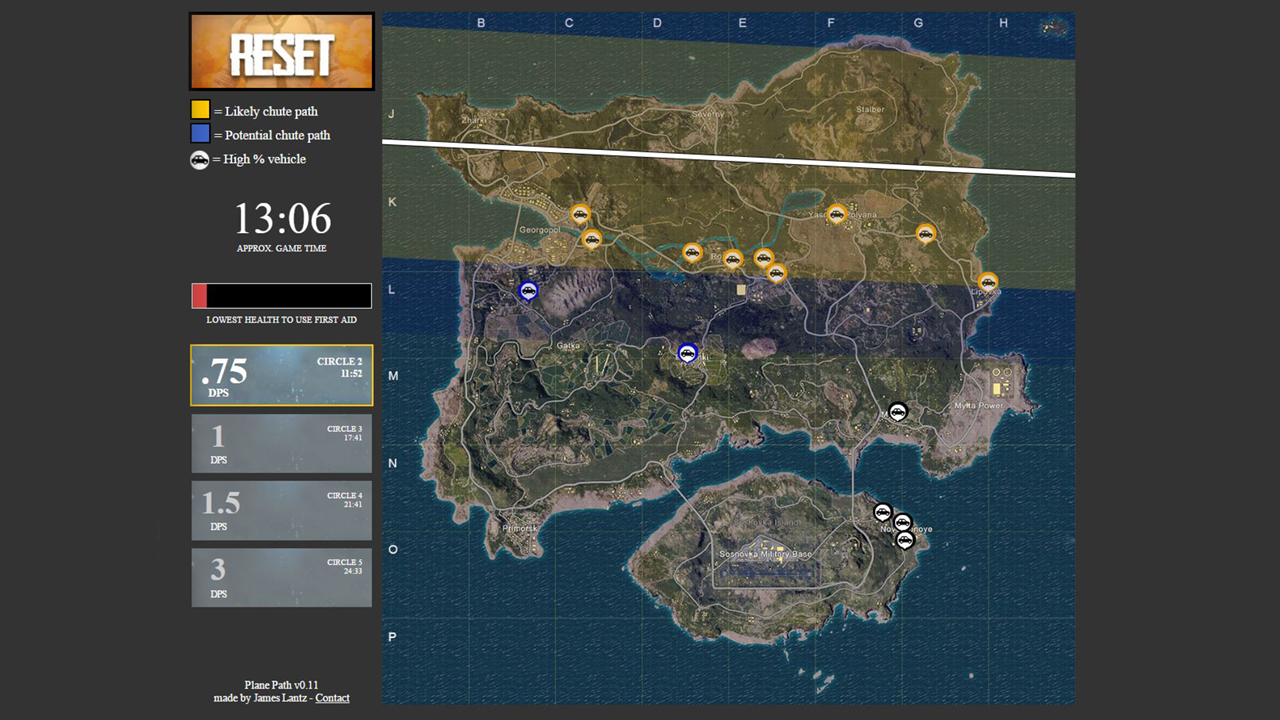 This interactive map makes it easy to remember where the damn plane and if youve played for long enough youve definitely found yourself desperately trying to remember which angle gumiabroncs Gallery
