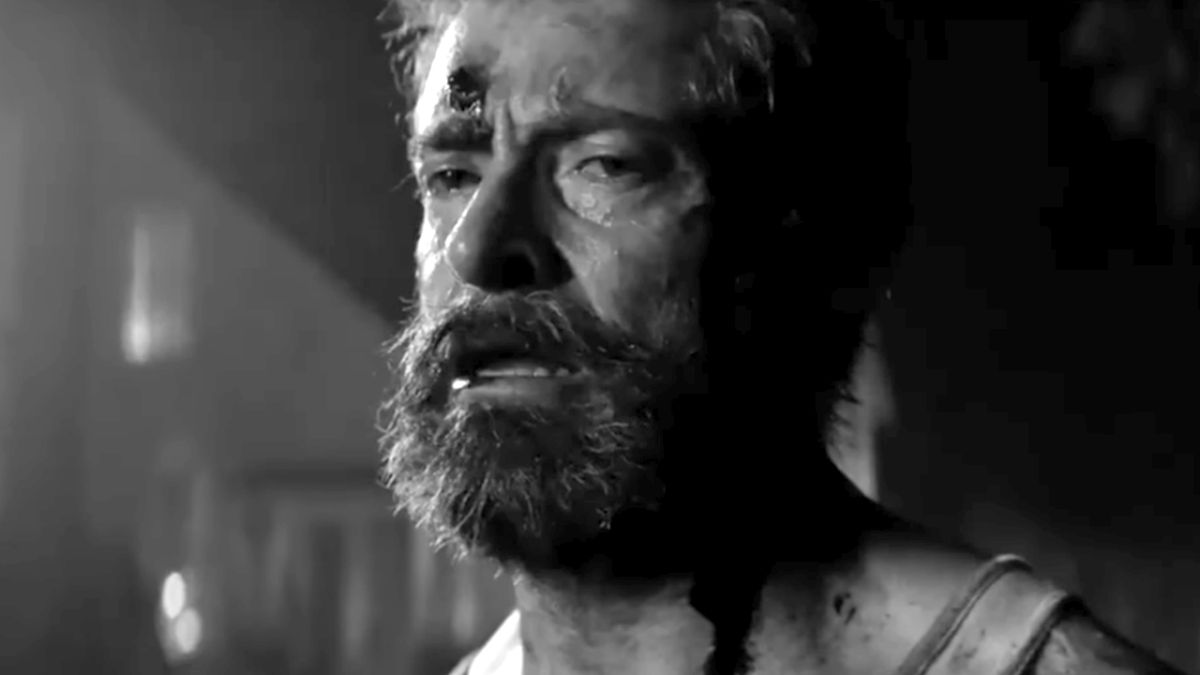 The trailer for black-and-white Logan Noir is beautiful and REALLY sad