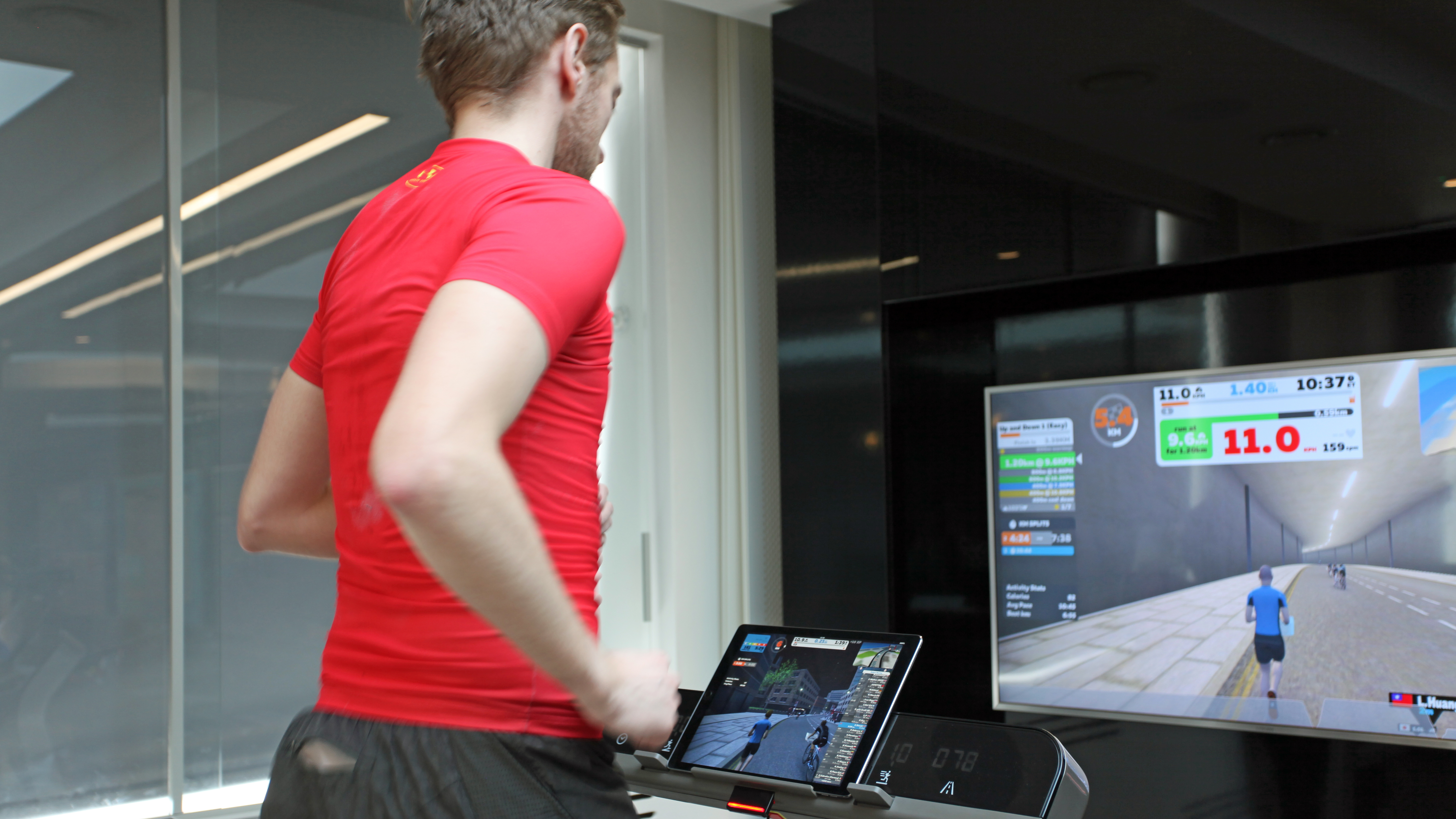 Zwift Run: a cure for the dreaded ills of the treadmills