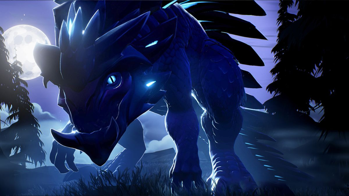 Here are two of the monsters you'll be roughing up in action RPG Dauntless