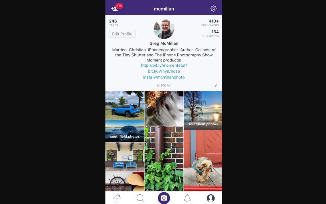 Social media platforms: Greg McMillan's work on Dayflash